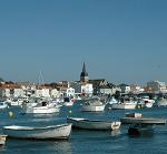 saint gilles croix de vie, vue sur le port