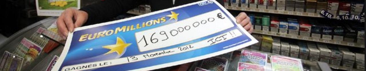 Gagnant Euromillions à la Trinité pour 169 millions d'euros