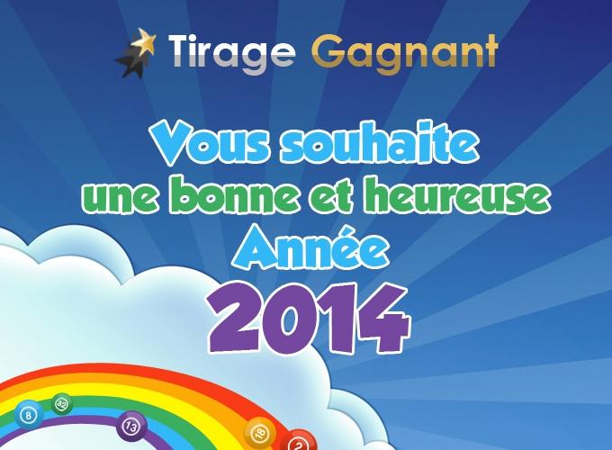 bonne année avec Tirage-Gagnant.com