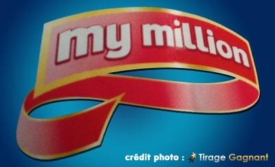 my million, nouveau jeu de tirage
