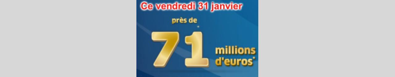 tirage euromillions 71 millions euros