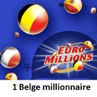 millionnaire belge à Euromillions