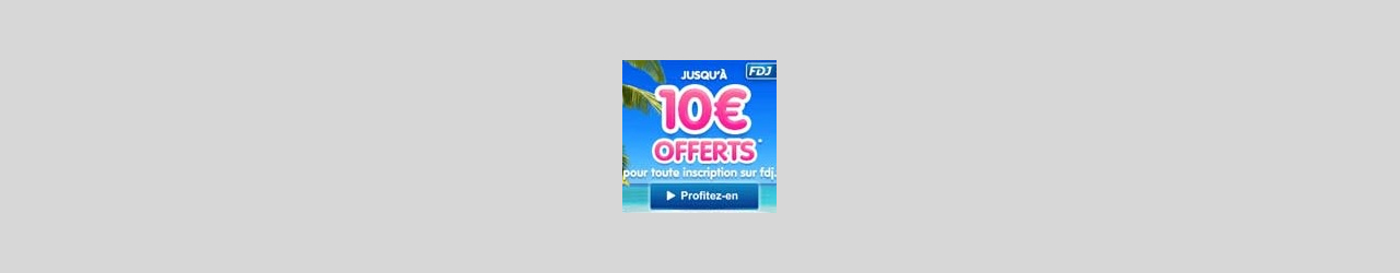 offre fdj 10euros offert