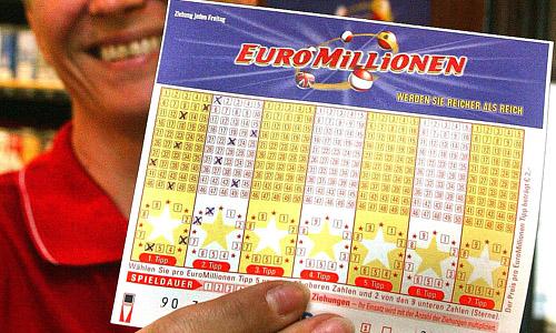 présentation d'une grille Euromillionen en Autriche