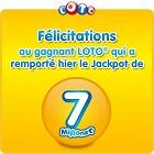 gagnant loto de Seine Saint Denis de 7 millions d'euros
