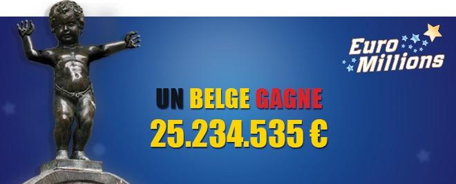 2ème gagnant euromillions en belgique