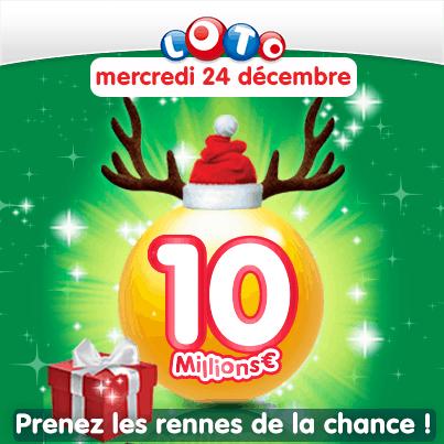 gagnant loto Noël 2014