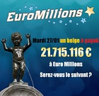 gagnant Euromillions en belgique en 2015