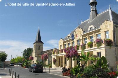 hotel de ville de Saint-Médard-en-Jalles