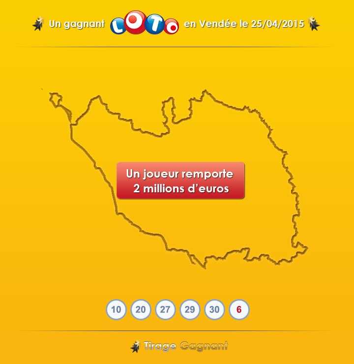 gagnant loto en Vendée