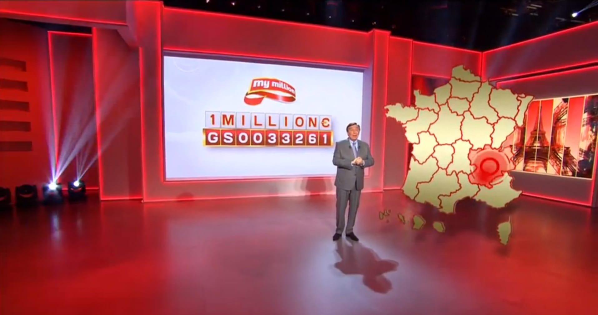 12ème gagnant Rhône Alpes My Million