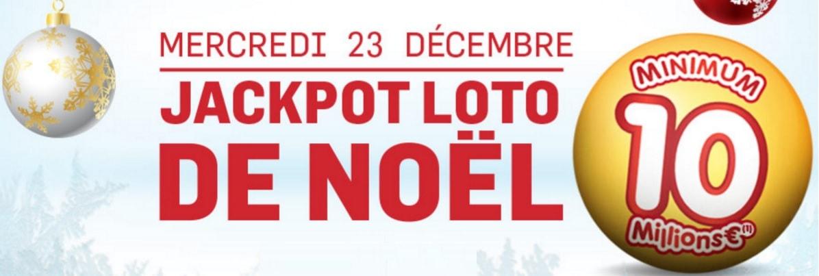 jackpot du Loto spécial Noël pour ce mercredi 23 décembre 2015