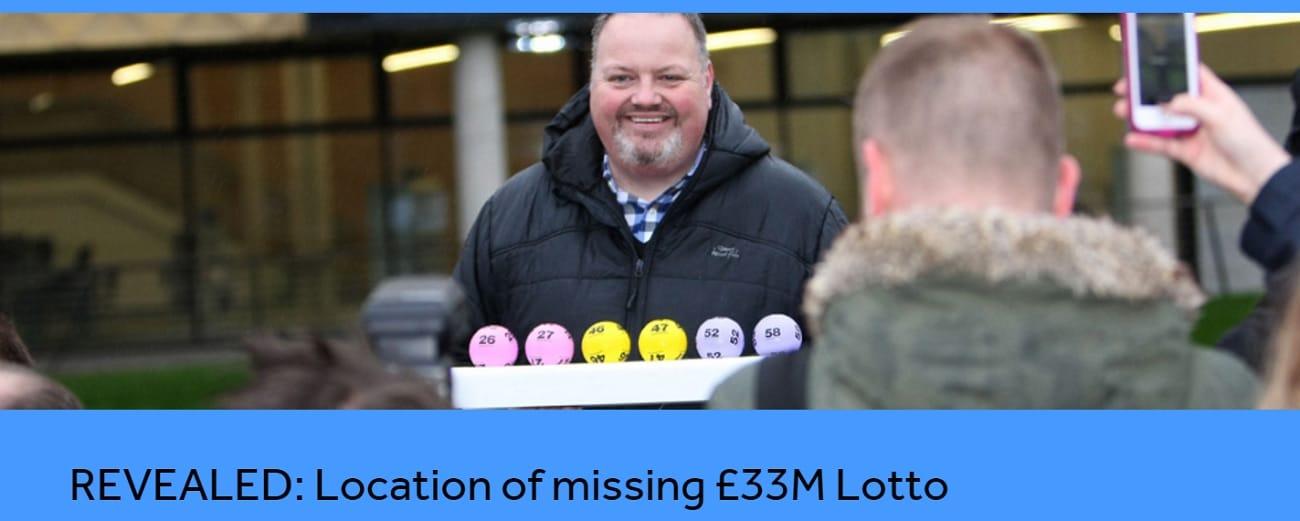gagnante du Lotto anglais pour 33 millions de livres sterling