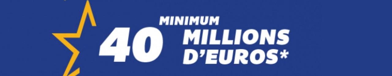 gagnant français pour 40 millions d'euros