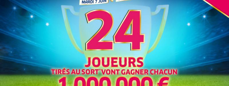 pluie de millionnaires mymillion euro 2016