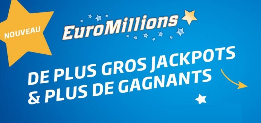 Euromillions nouvelle formule pour la Belgique