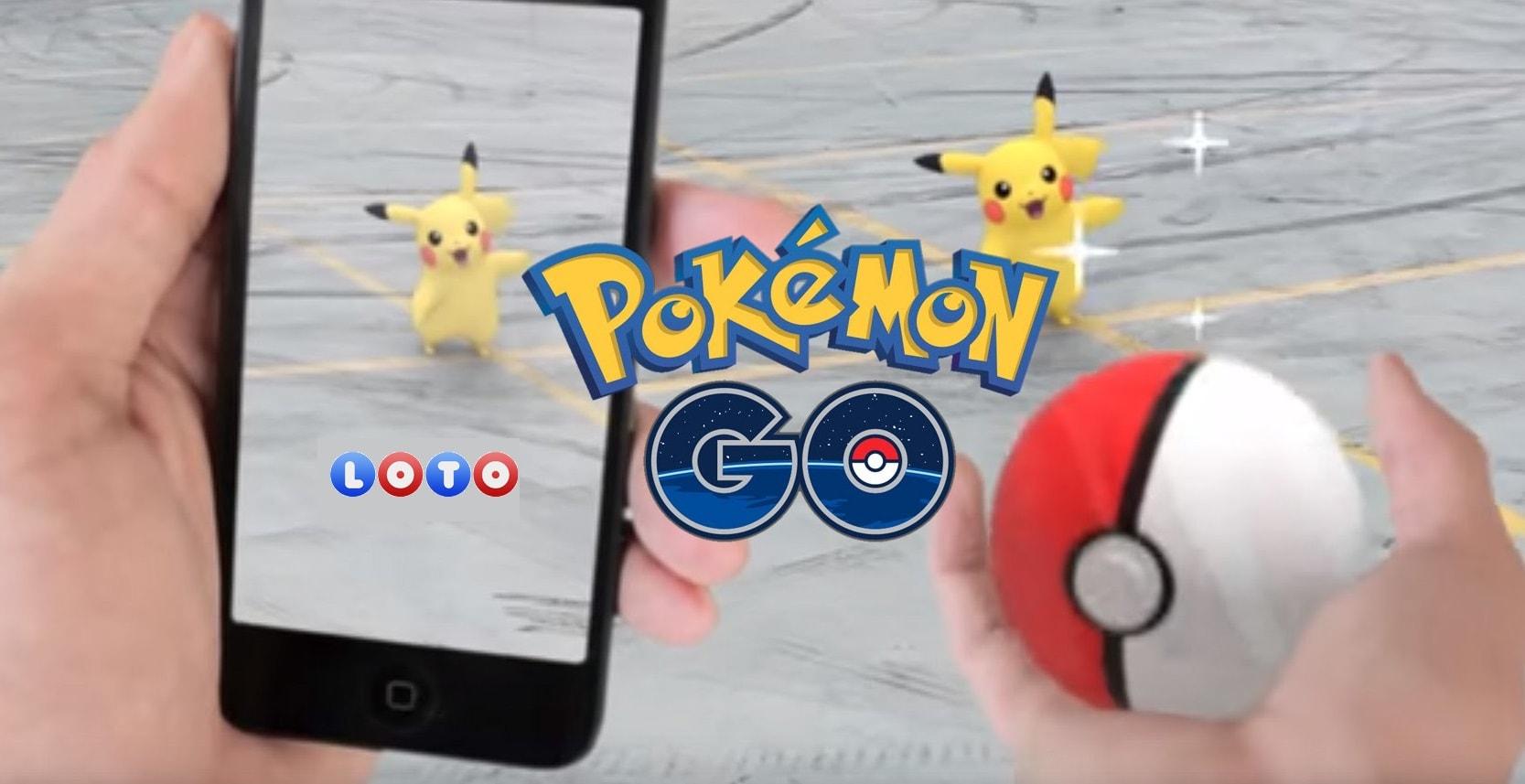 Pokemong GO Loterie
