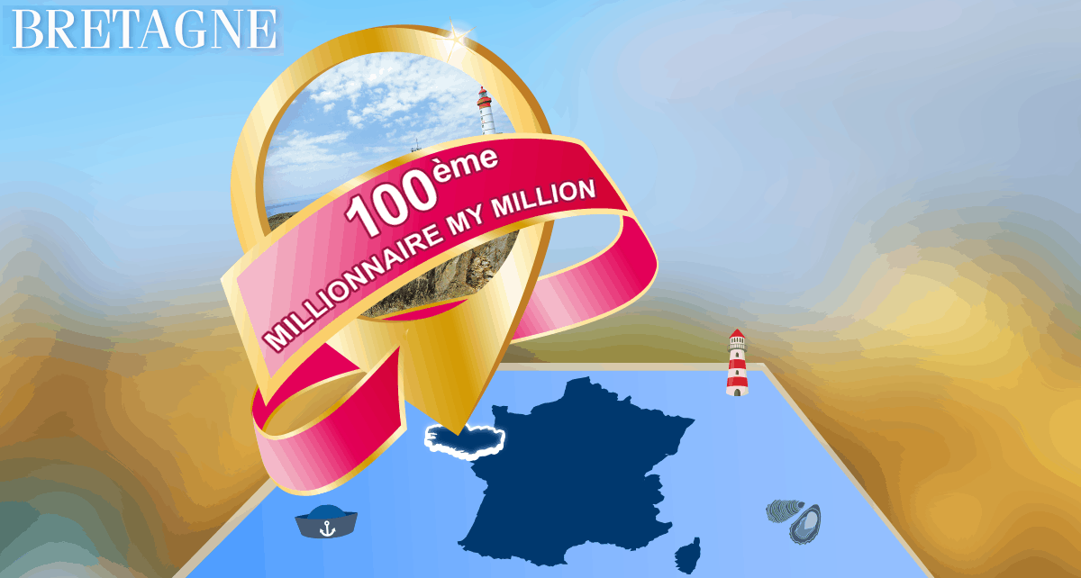 Gagnant My Million en Bretagne le 2 août 2016