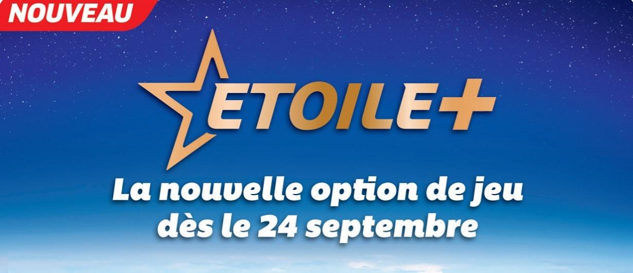 Option Etoile+ nouvelle formule Euromillions
