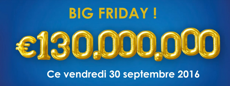 super jackpot euromillions 130 millions euros vendredi 30 septembre 2016