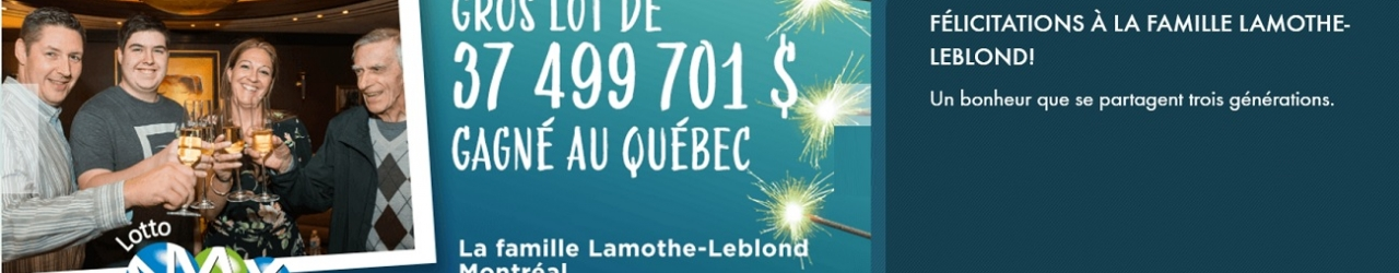 lotto max famille montreal