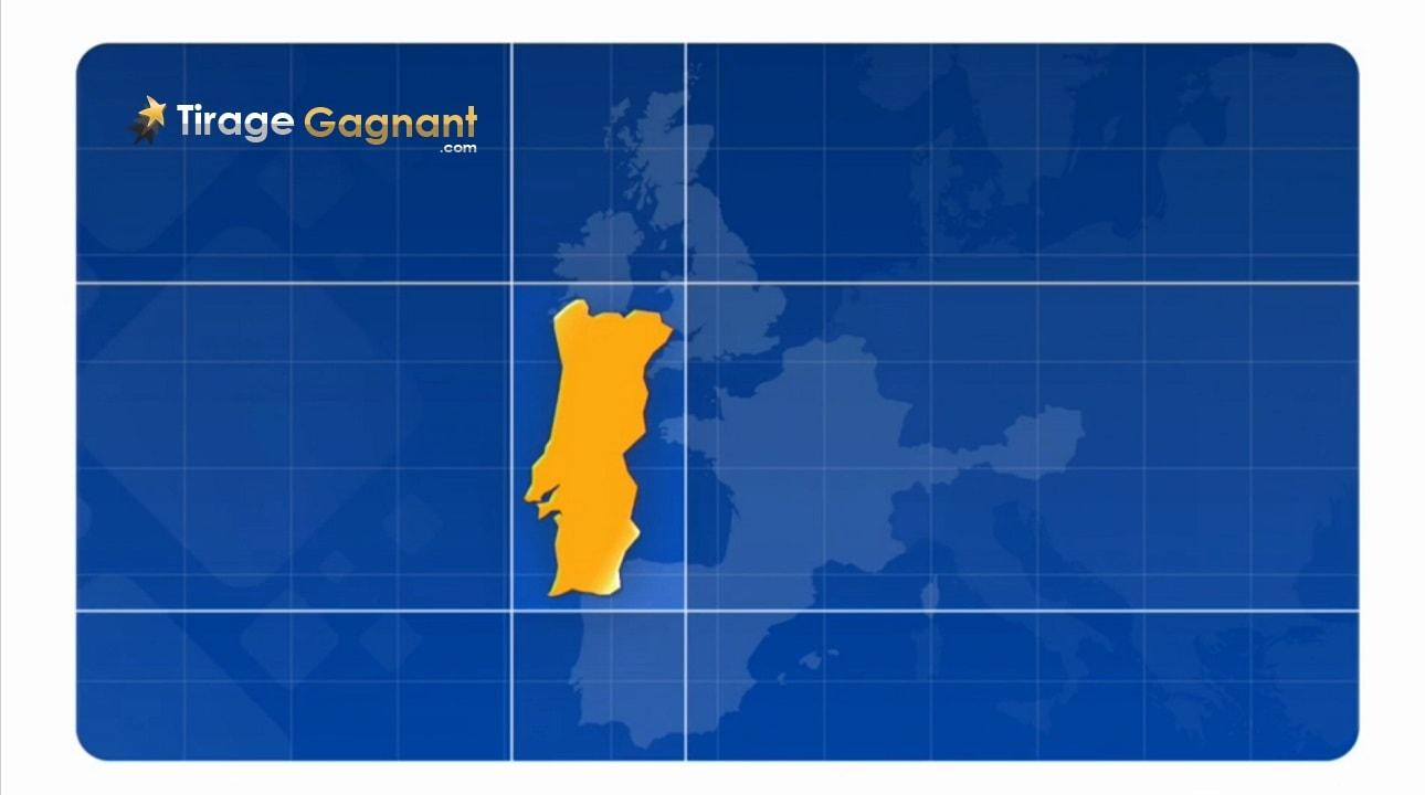 Gagnant Euromillions portugais de 61 millions d'euros