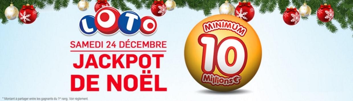 Jackpot de Noël : 10 millions d'euros en jeu
