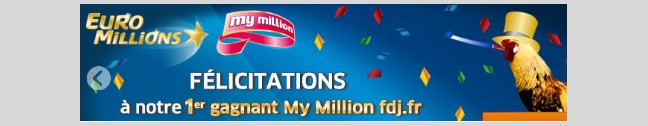 gagnant my million internet 10 janvier 2017