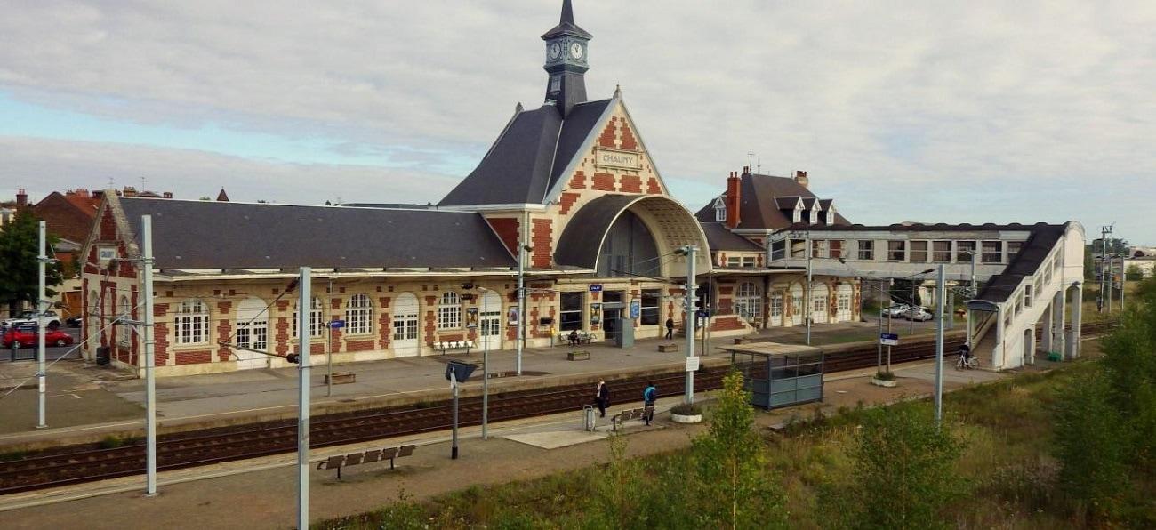 Gare de la ville de Chauny