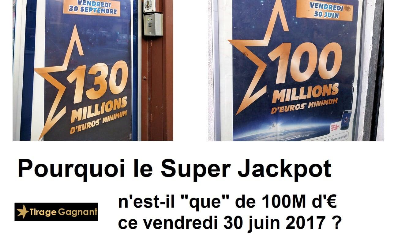 Euromillions : Pourquoi le jackpot est-il de 100 millions d'euros ?