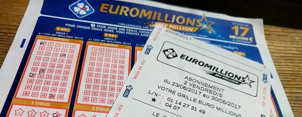 jouer à l'Euromillions par abonnement pour ce 30 juin 2017