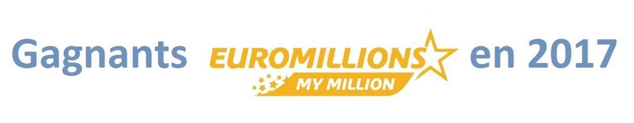gagnants euromillions de 2017