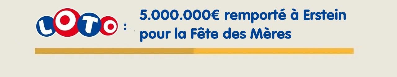 Loto FDJ : 5 millions d'euros à Erstein pour la Fête des Mères