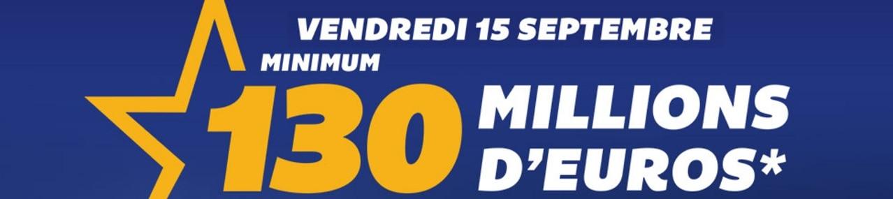 tirage exceptionnel Euromillions du vendredi 15 septembre 2017