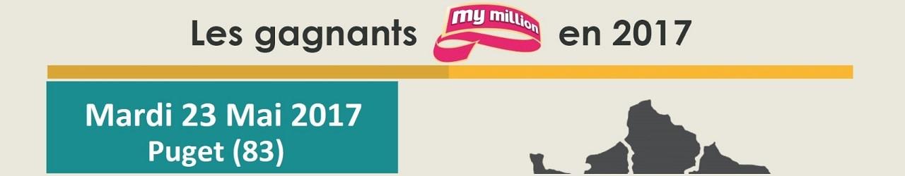 Gagnant My Million à Puget (83)