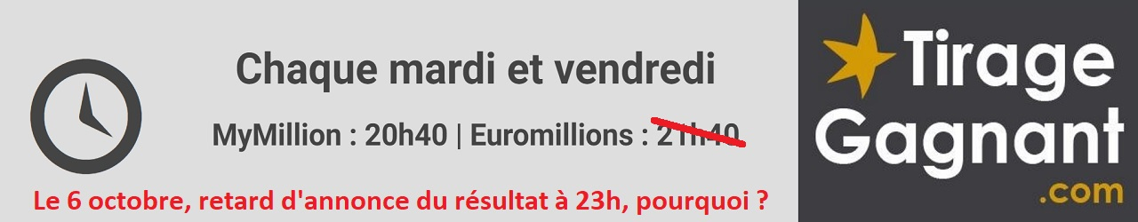 heure tirage euromillions