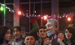Grand Loto de Noël 2017 : publicité animée tournée vers l'émotion