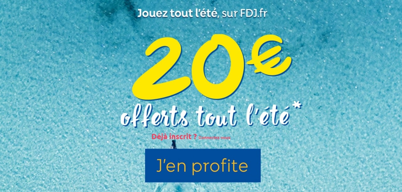 Bonus FDJ.fr de l'été