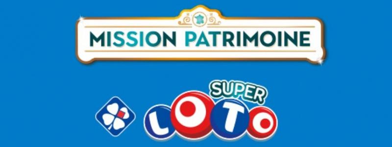 super loto mission patrimoine