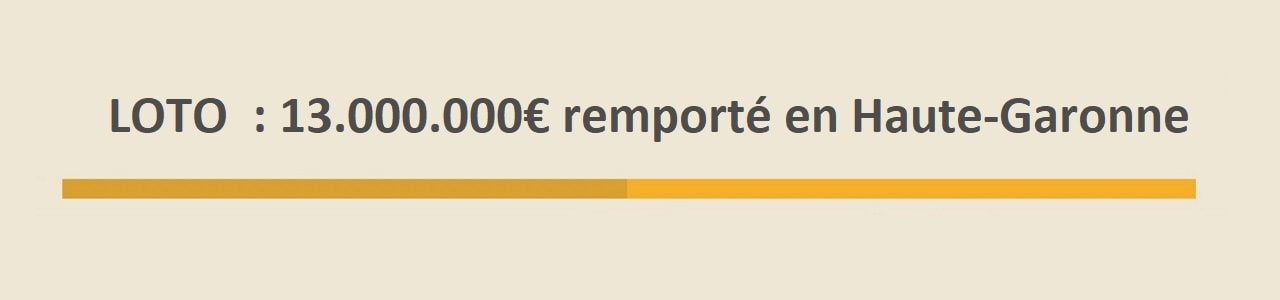 Super Loto : gagnant en Haute-Garonne