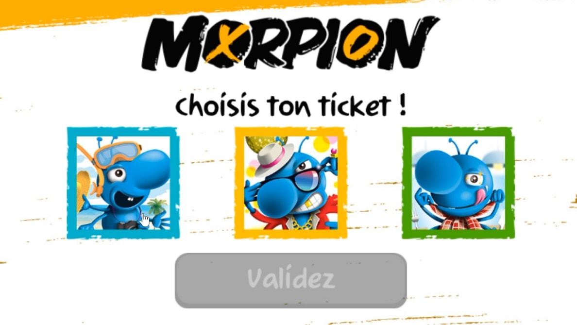 jouer au Morpion : choisissez votre ticket