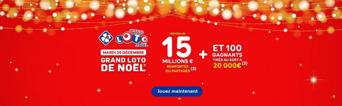 Jouer Grand Loto de Noël 2018 du 25 décembre 2018