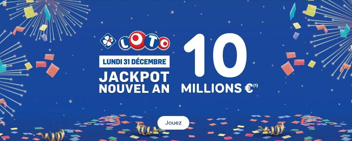 Jouer au Jackpot Loto du Nouvel An