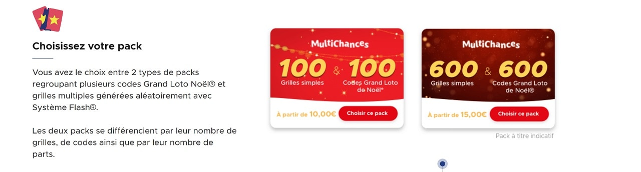 Multichances du Grand Loto de Noël