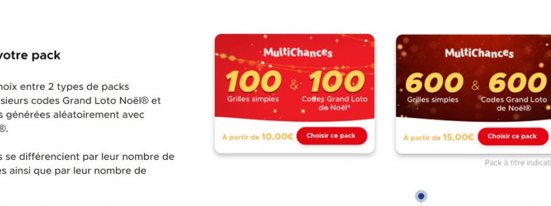 multichances grand loto de noel 2018