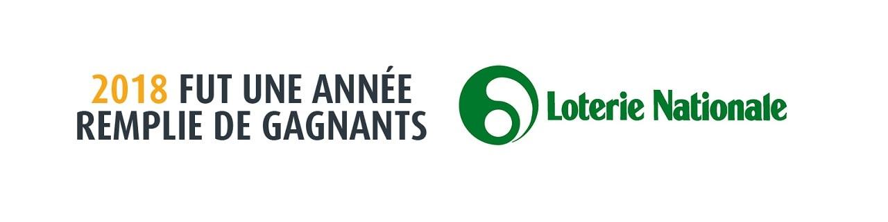 bilan 2018 : loterie nationale belge