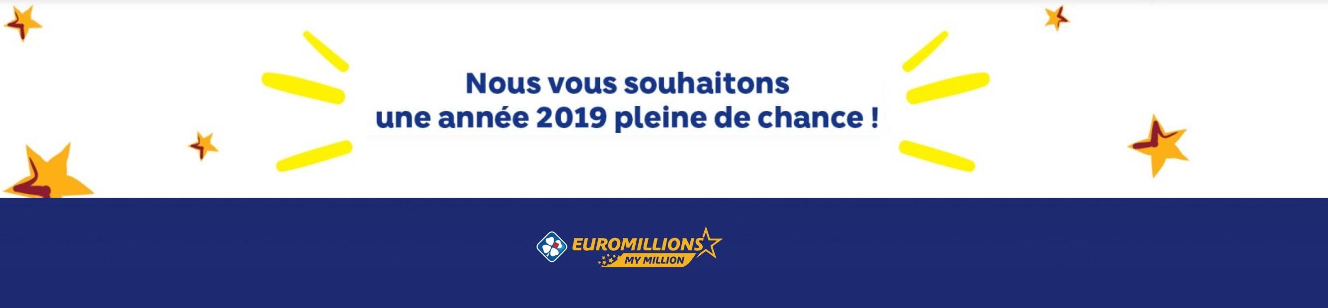 EuroMillions : Bilan 2018 de la malchance française
