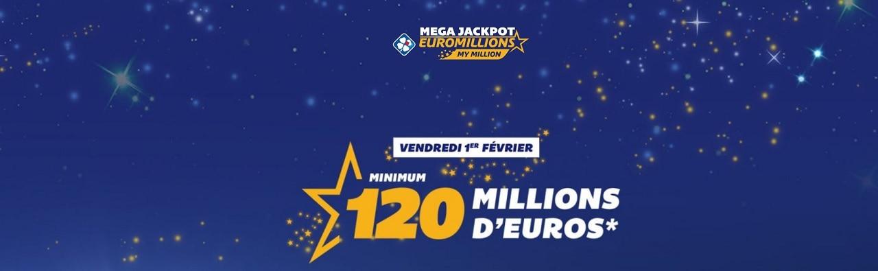 super jackpot de 120 millions d'euros ce soir