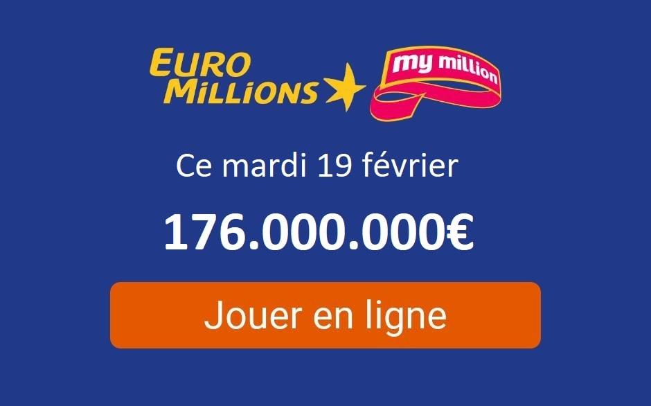 EURO MILLIONS 27 JANVIER 2019