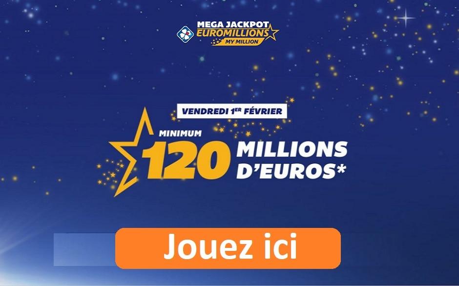 jouer super tirage EuroMillions du vendredi 1er février 2019